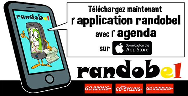 L'application randobel
