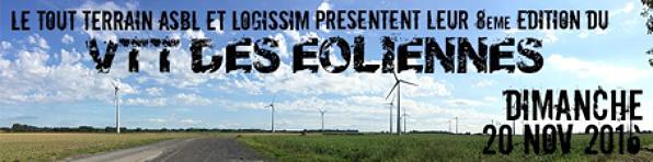L'évènement du mois : VTT des éoliennes